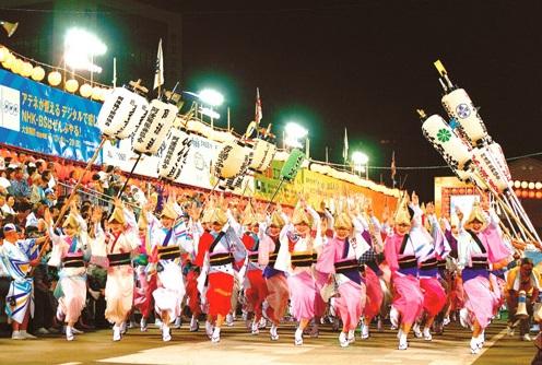 今年も阿波踊りが開催されます