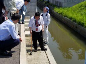 トレーサーガスによる漏水探査