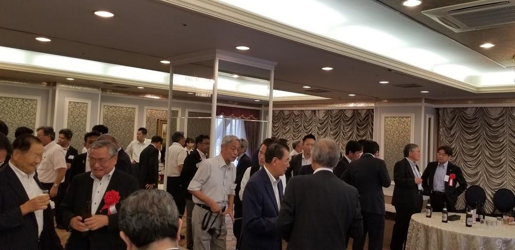 全国水道菅内カメラ調査協会 第9回総会 懇親会