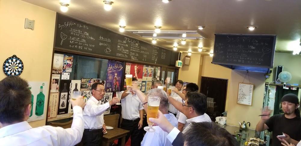 全国水道菅内カメラ調査協会 第9回総会 2次会