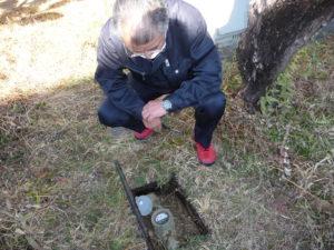 漏水調査 流量測定調査