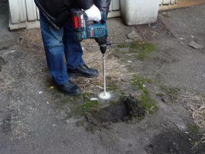 漏水調査 確認調査